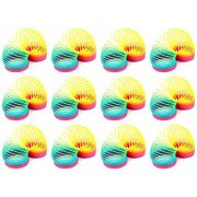 Set of 12 VT Rainbow Magic Spring Children's Kid's Toy Novelty Springs