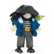 Le Toy Van® Figurine Poupée Jolly le Pirate et son perroquet Budkins Le Toy Van®