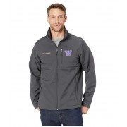 Columbia College Washington Huskies Collegiate Ascendertrade Softshell Jacket Shark