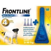 Merial Italia Frontline Spot on antiparassitario per Cani da 2 a 10 kg (4 pipette)