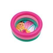Piscina 68l Redonda Barbie Fashion