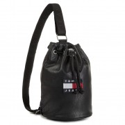 Дамска чанта TOMMY JEANS - Tjw Heritage Small Le Sling Bag AW0AW07335 BDS