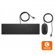 HP Pavilion Wired Combo Keyboard 400 Teclado + Rato (PT)