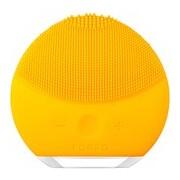Luna mini 2 escova de limpeza facial compacta todo tipo pele sunflower yellow - Foreo