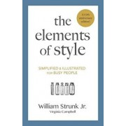 The Elements of Style: Simplified and Illustrated for Busy People, Paperback/Virginia Campbell