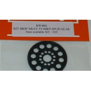 RW 48 DP Xray T4 offset Supa-lite Spur Gear 82 Tooth
