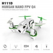 Hubsan H111D Nano Q4 FPV HD camara Altitude Hold modo RC Quadcopter
