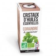 Aromandise Cristaux d'huiles essentielles Coriandre bio 10g
