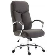 Sedia ufficio VAUD XL, poltrona in tessuto, grigio scuro CLP, grigio scuro, altezza seduta