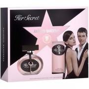 Antonio Banderas Her Secret Комплект (EDT 50ml + BL 100ml) за Жени