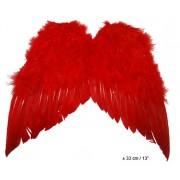 Aripi rosii pene 35x36 cm - Cod 54763