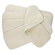 Tinytots Set Of 5 hemp Inserts (4 layered) for cloth diapers