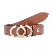 b.belt Cinturón piel cognac 75cm