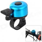 HH-88 Universal plastico Mini + aluminio aleacion Bell Horn para bicicleta - negro + azul