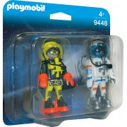 SET 2 FIGURINE - ASTRONAUTI - PLAYMOBIL (PM9448)
