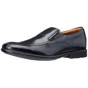 Clarks Men's Gosworth Step Black Leather Formal Shoes - 10 UK