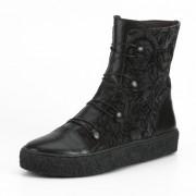 Boots, zwart/antraciet 41