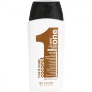 Revlon Professional Uniq One All In One Coconut champô reforçador para todos os tipos de cabelos 300 ml