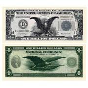 American Art Classics Pack of 100 Bills - Classic Billion Dollar Bills