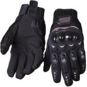 Deepsell Black Winter Pro Biker Gloves