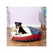 Snoozer Pet Products Orthopedic Indoor/Outdoor Cozy Cave Dog & Cat Bed, Anchors, Large