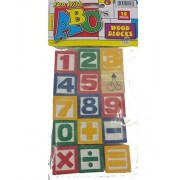 Fun With Numbers 123 15 Wood Blocks Classic Learning Preschool Educational Toy