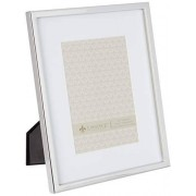 Lawrence Frames 710680 Silver Standard Metal Picture Frame, 8 by 10 Inch Matted, 5 by 7 Inch