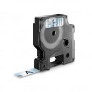 Etichete autocolante DYMO LabelManager D1 12mm x 7m negru transparent 45010 S0720500