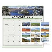Landscape Monthly Wall Calendar, 12 X 12, 2017