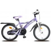 Olpran dječji bicikl Dommy 16, bijelo/ljubičasti