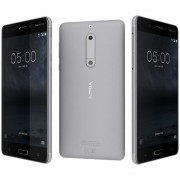 Nokia 5 Android Lte Pant. 5.2 Hd 16+2ram 13+8mpx- Plata