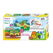 GRAPPLE DEALS Foam Bead Dough, Make Your Own Creative Design With This Kit..