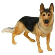German Shepherd Figurine By Lesser & Pavey