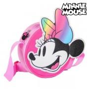 Geantă Bandulieră 3D Minnie Mouse 72883 Roz