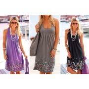 AC Electronic Limited- Domo Secret £7.99 for a women's sleeveless pleated mini sundress in UK sizes 6-18 - Domo Secret!