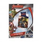 Avengers Captain America 140X200 ágyneműhuzat és párnahuzat