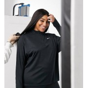 Nike Running Plus Pacer Half Zip Top In Black