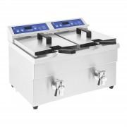 Fritadeira por indução – 2x 10 litros – de 60 a 190°C
