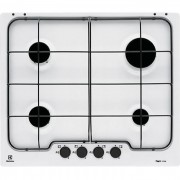 Rex Electrolux Pb640v Piano Cottura A Gas 60 Cm 4 Fuochi Colore Bianco