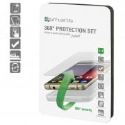 Conjunto de Protecção 4smarts 360 para Samsung Galaxy S8+ - Transparente