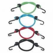 Set 4 ks upínací gumy s háčky Master Lock 3018EURDAT - 25 cm