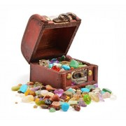 Pirates' Treasure Chest - Crammed with Gemstones, Pearls and Jewels!