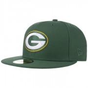 New Era 59Fifty NFL Classic Packers Cap Baseballcap Basecap Fitted NFL-Cap Flat Brim Green Bay