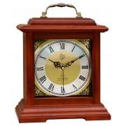 Rádiem řízené dřevěné melodické stolní hodiny JVD NSR15.3 Á La Campagne