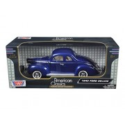 Motormax 1940 Ford Deluxe Die-Cast Collection 1:18 scale