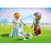 Playmobil 6843 Duo Pack - Princesse Et Servante