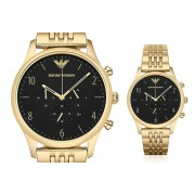 Emporio Armani Gold Plated Men's Watch