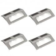 vidaXL 4 x spoturi solare pentru scări