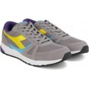 Diadora RUN 90 Running Shoes For Men(Grey)