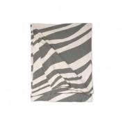 Ellens agenturer Zebra pläd grå